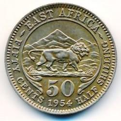 Moneta > 50centesimi, 1954-1963 - Africa Britannica Orientale  - reverse