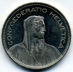 Moneta > 5franków, 2007 - Szwajcaria  - obverse