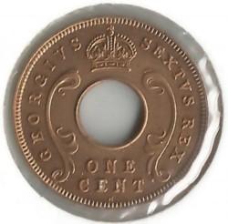 Moneta > 1centesimo, 1949-1952 - Africa Orientale Britannica  - obverse