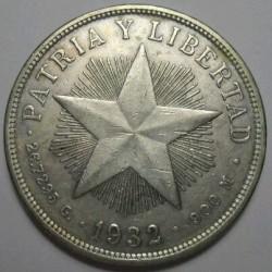 Coin > 1peso, 1915-1934 - Cuba  - obverse