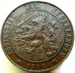 Monēta > 2½centi, 1903-1906 - Nīderlande  - obverse