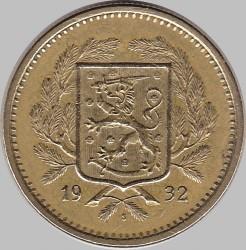 Münze > 20Mark, 1932 - Finnland  - obverse