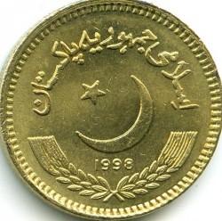 Mynt > 2rupees, 1998-1999 - Pakistan  - obverse