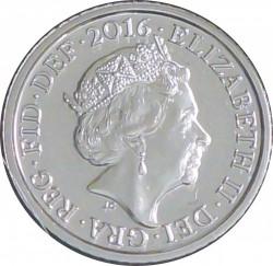 Монета > 5пенсів, 2015-2018 - Велика Британія  - obverse
