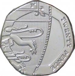 Moneta > 20pensów, 2015-2018 - Wielka Brytania  - reverse