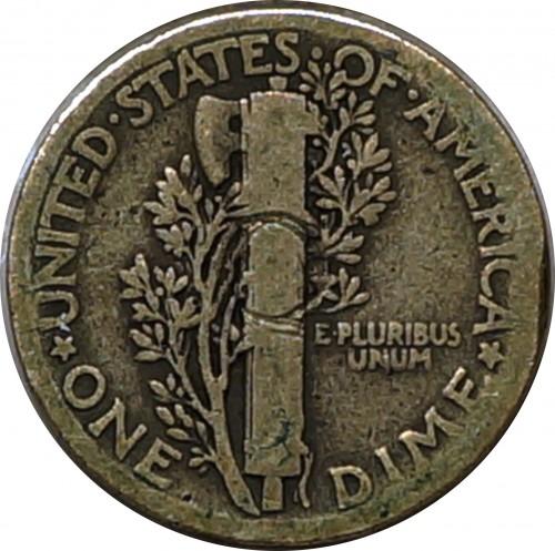 1 Dime 1920 Usa Coin Value Ucoin Net