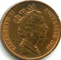 Mynt > 1cent, 1985-1991 - Australia  - obverse