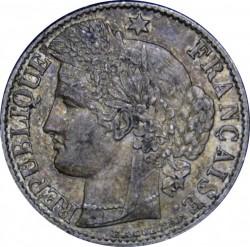 Moneta > 50centesimi, 1871-1895 - Francia  - obverse