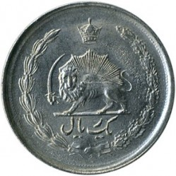 מטבע > 1ריאל, 1959-1975 - איראן  - reverse