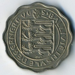 Νόμισμα > 3Πέννες, 1956 - Γκέρνσεϊ  - reverse