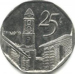 מטבע > 25סנטאבו, 1994-2018 - קובה  - reverse