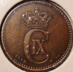 Moeda > 2ore, 1874-1906 - Dinamarca  - obverse