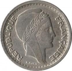 Pièce > 20francs, 1949-1956 - Algérie  - obverse