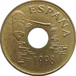 Монета > 25песети, 1998 - Испания  (Ceuta) - obverse