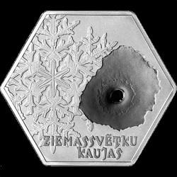 Coin > 5euro, 2016 - Latvia  (100th Anniversary - Christmas Battles) - reverse