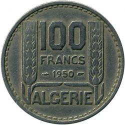 Pièce > 100francs, 1950-1952 - Algérie  - reverse