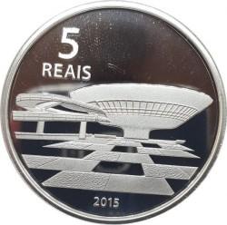 Moneta > 5reali, 2015 - Brazylia  (XXXI Letnie Igrzyska Olimpijskie, Rio de Janeiro 2016 - Bieg i Muzeum Sztuki Współczesnej) - reverse