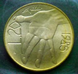 Moneda > 20liras, 1985 - San Marino  (Lucha contra las drogas) - reverse