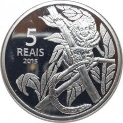 Moneta > 5reali, 2015 - Brazylia  (XXXI Letnie Igrzyska Olimpijskie, Río de Janeiro 2016 - Kolarstwo i marmozeta) - reverse