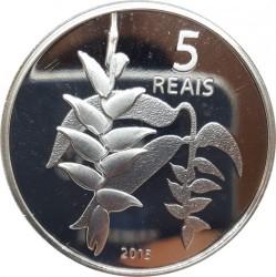 Moneta > 5reali, 2015 - Brazylia  (XXXI Letnie Igrzyska Olimpijskie, Río de Janeiro 2016 - Wioślarstwo i helikonia) - reverse