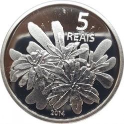Moneta > 5reali, 2014 - Brazylia  (XXXI Letnie Igrzyska Olimpijskie, Rio de Janeiro 2016 - Wioślarstwo) - reverse
