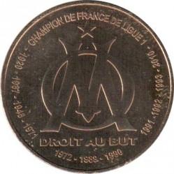 Moneda > 1½euros, 2011 - Francia  (Clubs de Futbol - Olympique de Marsella) - reverse