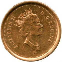 Moneta > 1cent, 2001-2003 - Kanada  - obverse