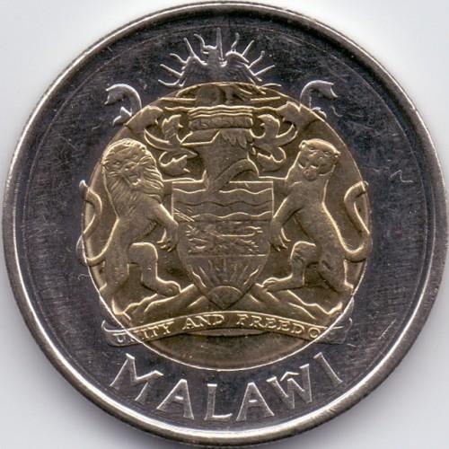MALAWI   2006  5 KWACHA  BIMETAL  UNCIRCULATED COIN