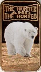 Moneta > 25szylingów, 2013 - Somalia  (Łowca i polowanie - Niedźwiedź polarny) - reverse