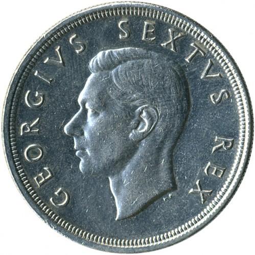5 Schilling 1948 1950 Südafrika Münzen Wert Ucoinnet