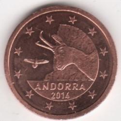Кованица > 2цента, 2014-2017 - Андора  - obverse