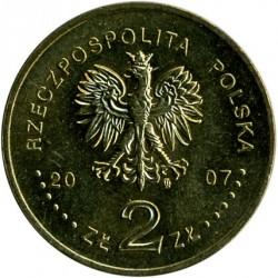 Moneda > 2zlote, 2007 - Polonia  (750 aniversario - Garantia de los Derechos Municipales en Cracovia) - obverse