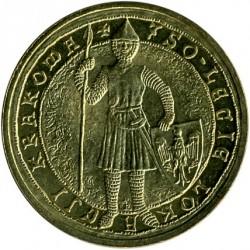 Moneda > 2zlote, 2007 - Polonia  (750 aniversario - Garantia de los Derechos Municipales en Cracovia) - reverse