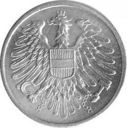 Монета > 2гроша, 1950-1994 - Австрія  - reverse