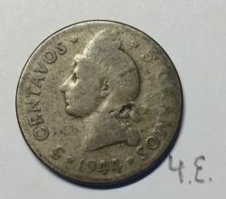 מטבע > 5סנטאבו, 1944 - הרפובליקה הדומיניקנית  - obverse