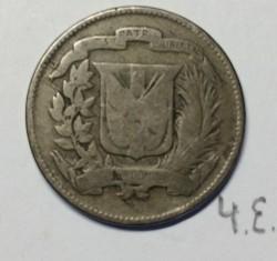 מטבע > 5סנטאבו, 1944 - הרפובליקה הדומיניקנית  - reverse
