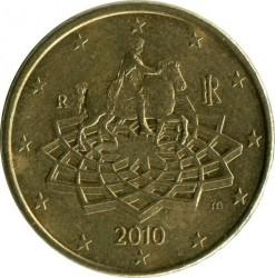 Moneta > 50centų, 2008-2018 - Italija  - obverse