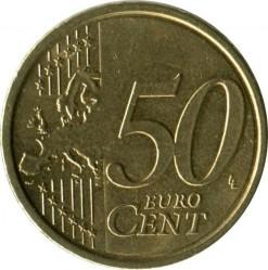 Moneta > 50eurocentų, 2008-2019 - Italija  - reverse