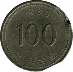 Moneta > 100vonų, 1983 - Pietų Korėja  - reverse