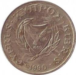 Moneda > 2cents, 1985-1990 - Xipre  - reverse