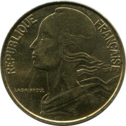 Coin > 20centimes, 1995 - France  - reverse