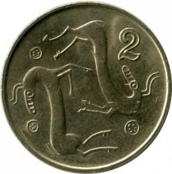 Монета > 2цента, 1991-2004 - Кипр  - reverse