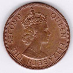 Монета > 5милей, 1955-1956 - Кипр  - obverse