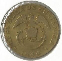Moneta > 2centavos, 1943-1944 - Guatemala  - reverse