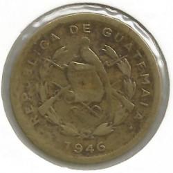 Moneda > 1centavo, 1932-1949 - Guatemala  - obverse