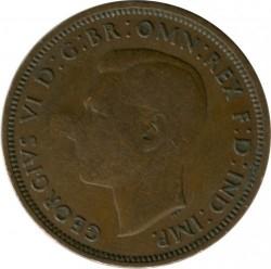 錢幣 > ½便士, 1939 - 英國  - reverse