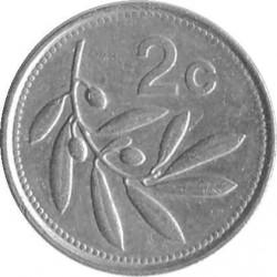 Coin > 2cents, 1991-2007 - Malta  - obverse