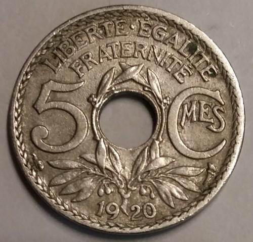 5 Centimes 1917 1920 Frankreich Münzen Wert Ucoinnet