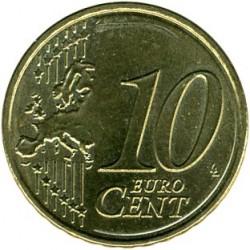 Moneda > 10céntimos, 2008-2019 - Austria  - reverse