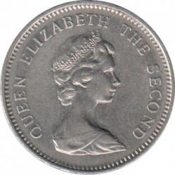 سکه > 5پنس, 1974-1992 - جزایر فالکلند  - obverse